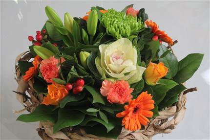 Bouquet orange CHF 25.00