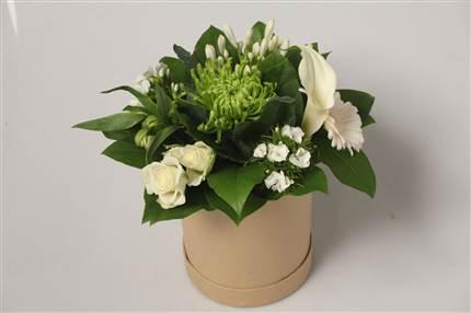 Bouquet blanc et vert CHF 22.00