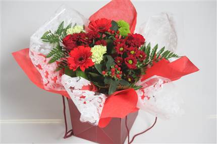 Bouquet rouge CHF 22.00