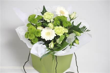 Bouquet vert-blanc CHF 22.00